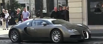 Anzhi's Samuel Eto Drives a Bugatti Veyron [Video]
