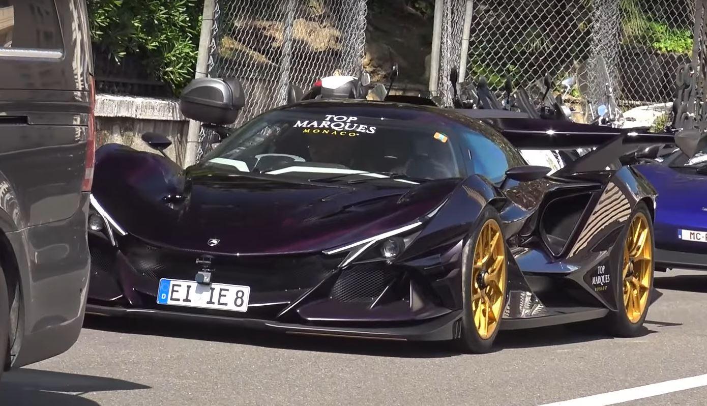 Apollo Ie Parades V12 Sound Around Monaco Gets Mobbed