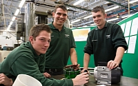 Bentley apprentices ready for new colleagues plural