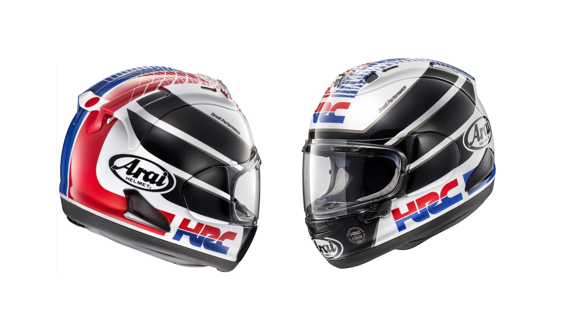 81506b59 Arai Delivers the RX-7V HRC Limited Edition Helmet for Honda Fans ...