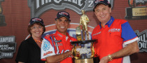 Arana is the Pro Stock Motorcycle NHRA Champion