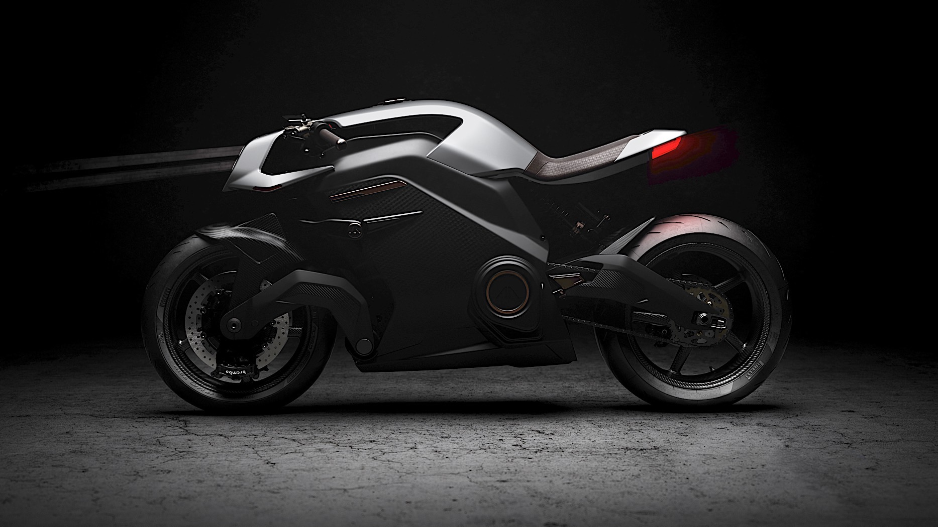 f2a347d883 Arc Shows Vector Electric Motorcycle with Knox Smart Armor and Hedon ...