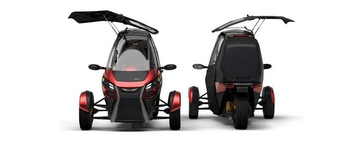 Arcimoto SRK Electric Three-Wheeler Hails the Future of Urban Transport - autoevolution