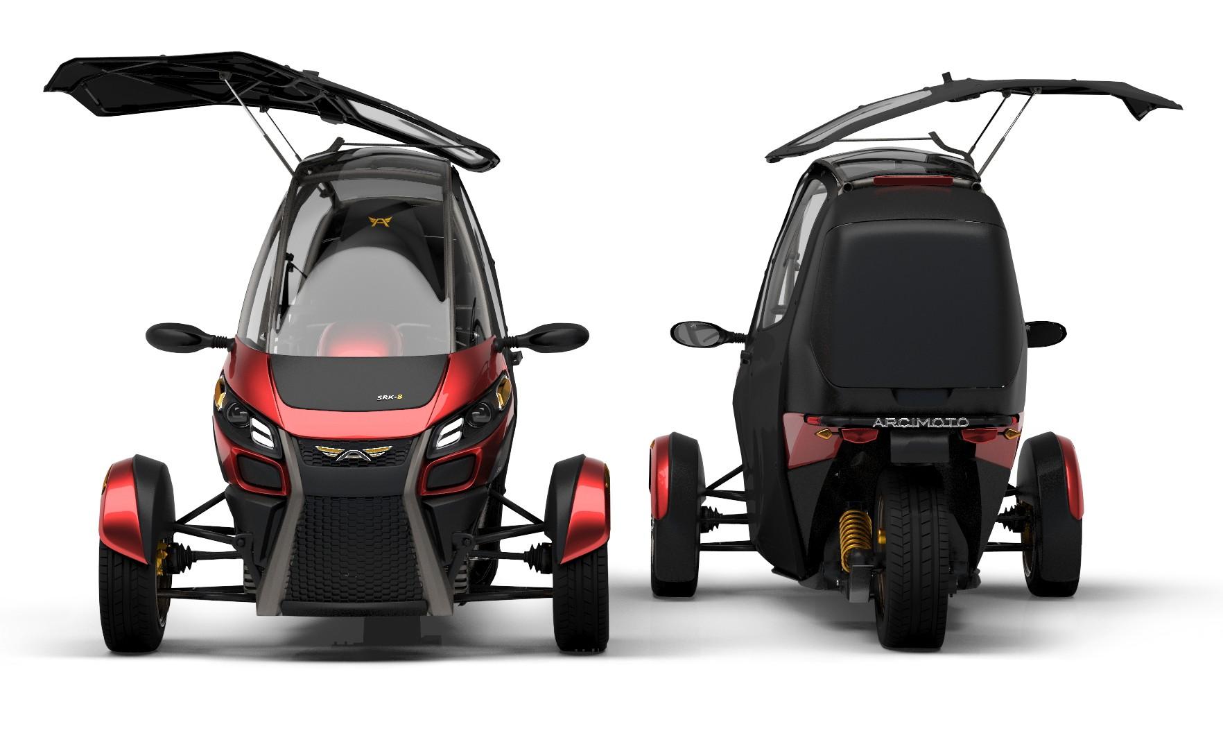 Arcimoto Srk Electric Three Wheeler Hails The Future Of
