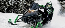 Arctic Cat Sleds Lose Weight with New Self-Made Engine
