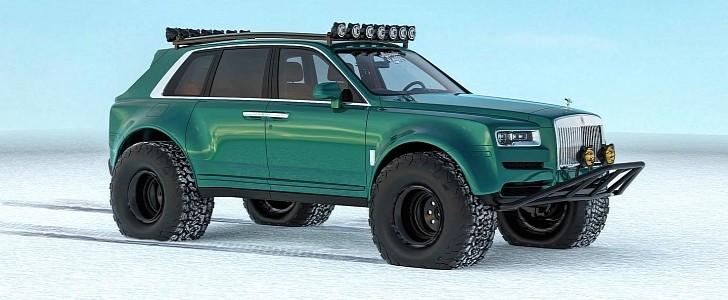 Arctic Trucks Rolls-Royce Cullinan Expedition Vehicle ...