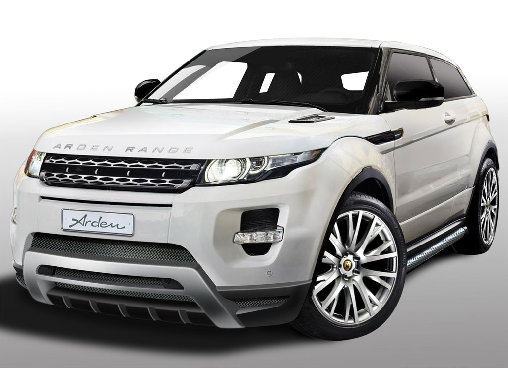 Arden Introduces Range Rover Evoque Tuning Kit Autoevolution