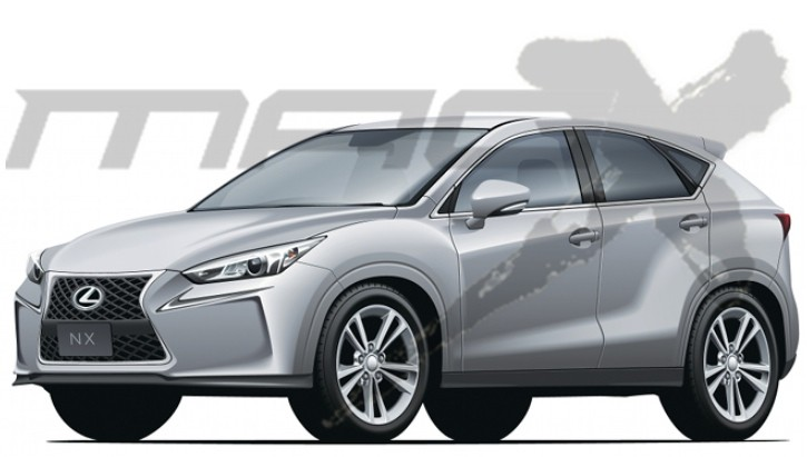 Are We Getting the Production Lexus NX in Mid 2014?