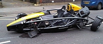 Ariel Atom Crash Turns It into a Three-Wheeler