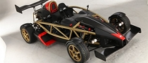 Ariel Atom V8 Uses Colored Ceramic Exhaust Coating