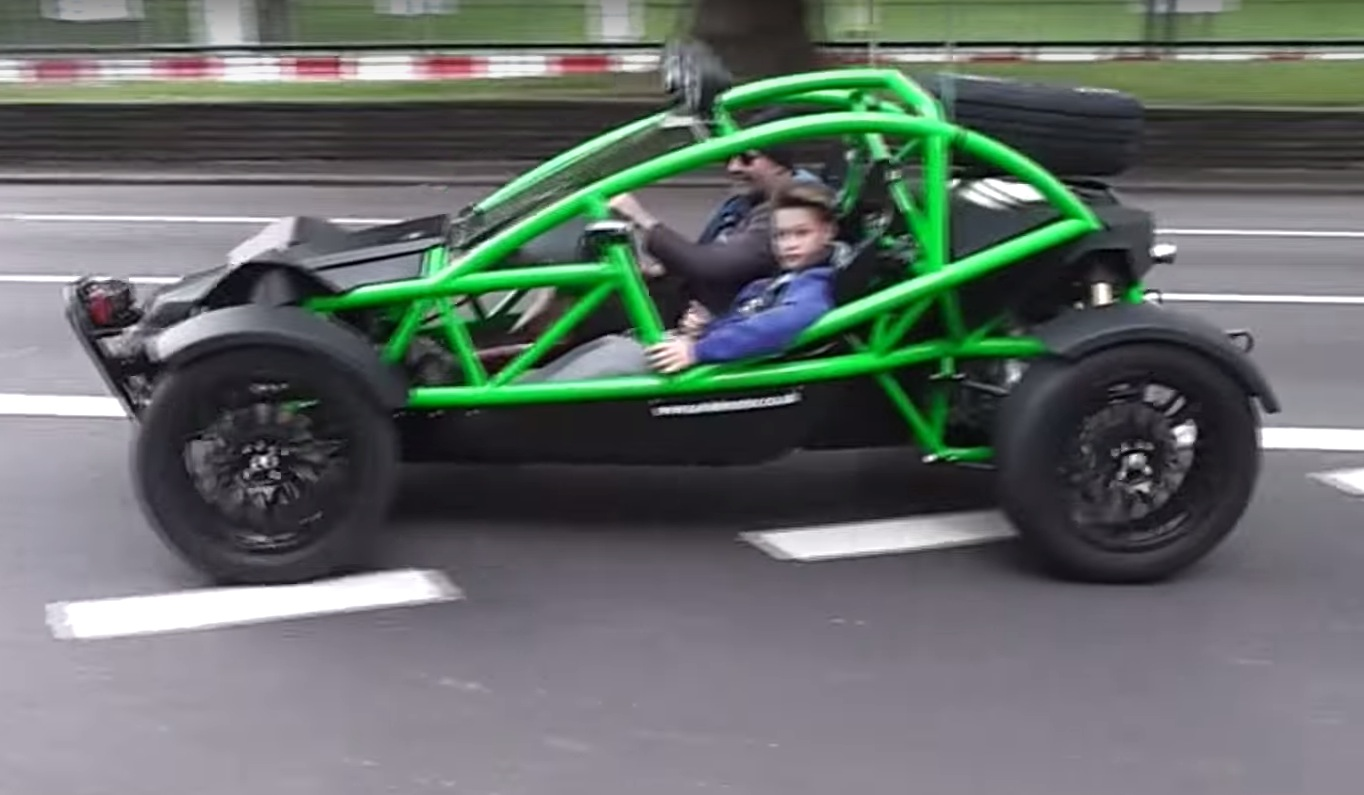 Ariel Nomad Invades London Looks Cooler Than Any Supercar