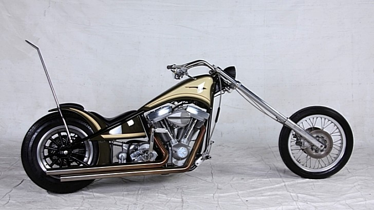Aritsch-Davidson, the Huge Rake Harley-Davidson [Photo Gallery]
