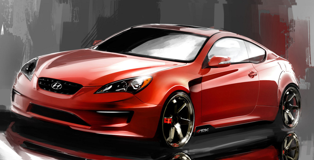 ARK Genesis Coupe Sketch