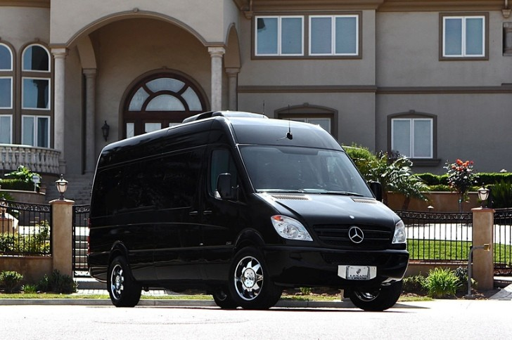 Armored Mercedes Sprinter gets Pimped Interior by Lexani [Video]