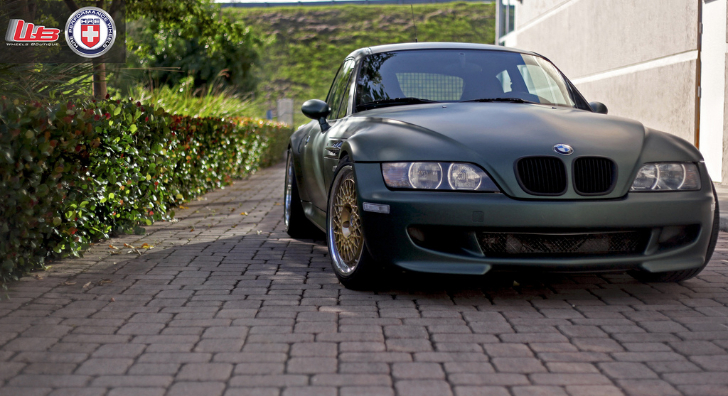 Race Cars Names >> Army Green BMW Z3 M Is Deadly Fast - autoevolution