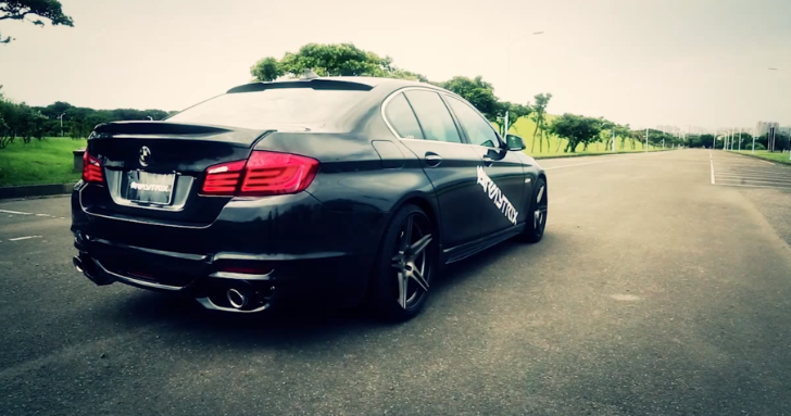 Armytrix Fitted BMW F10 535i Sounds Enticing [Video]