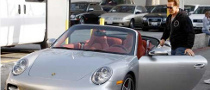 Arnold's Latest Ride: a Not-so-Green Porsche
