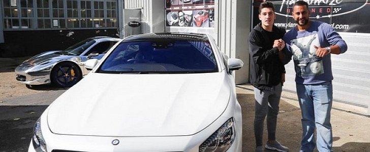 Antonio Brown Gets His Car