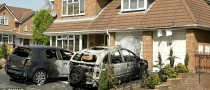 Arsonists Torch Five Cars in Worcestershire