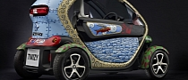 Art Car: Renault Twizy by Jacque Tange [Photo Gallery]