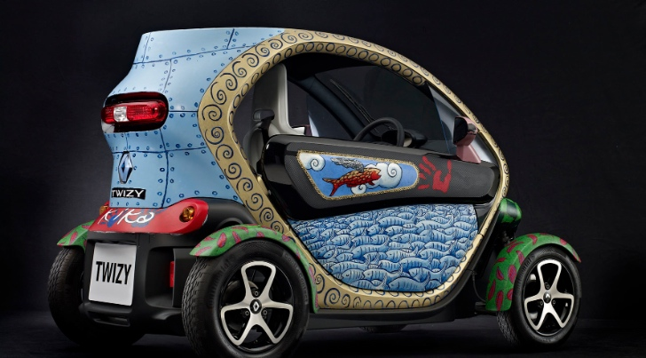 art car renault twizy by jacque tange autoevolution. Black Bedroom Furniture Sets. Home Design Ideas