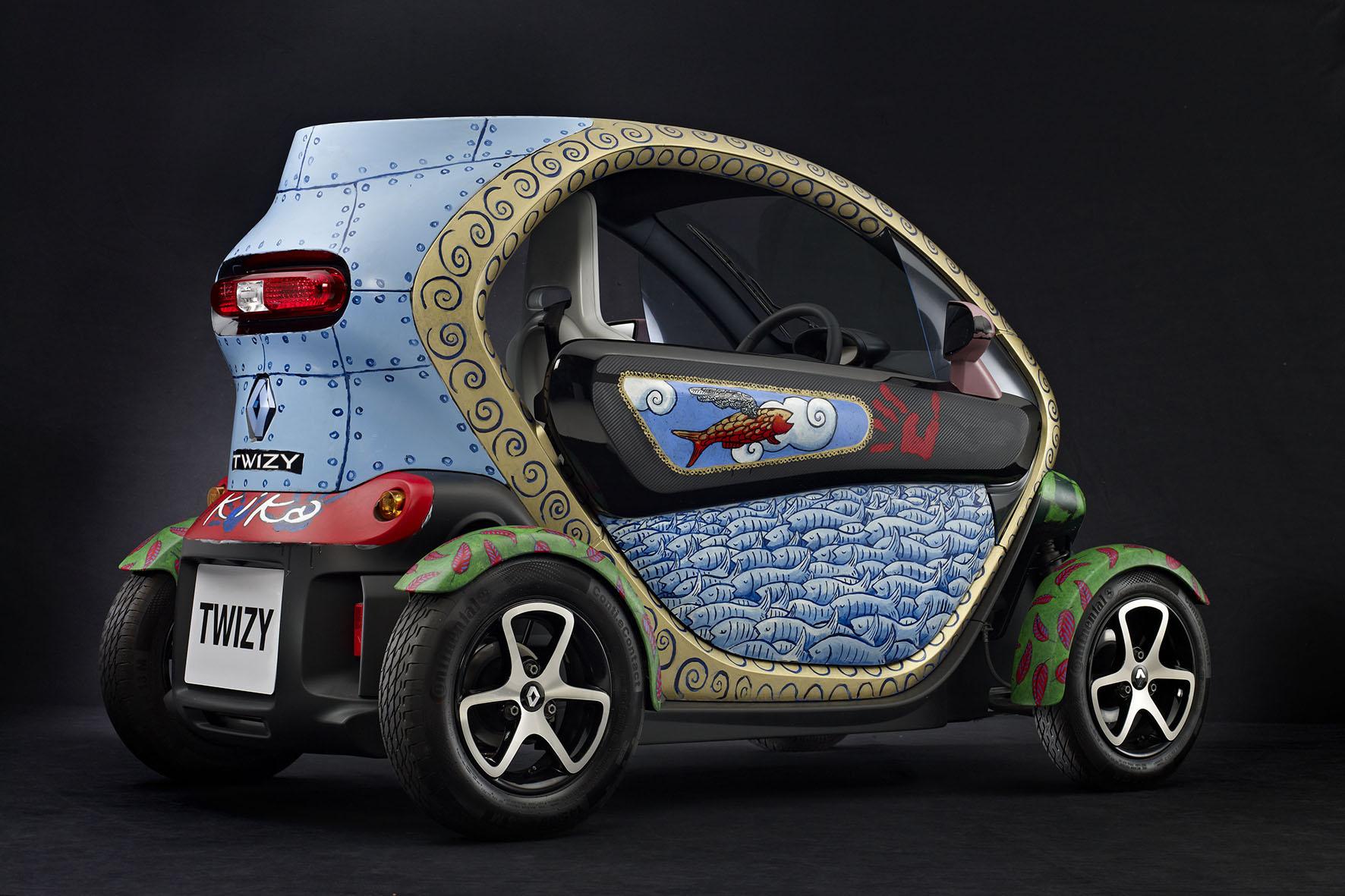 Art Car Renault Twizy By Jacque Tange Autoevolution