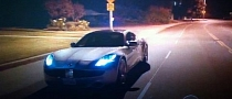 Ashton Kutcher Drives Fisker Karma in Two and a Half Men