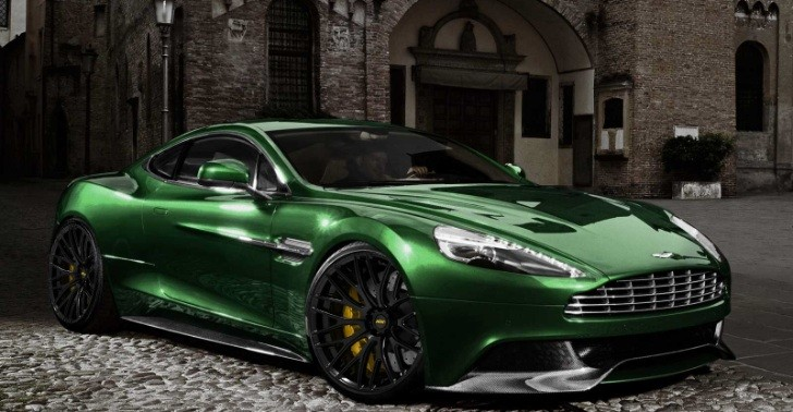 Aston Martin AM 310 Vanquish on ADV.1 Wheels