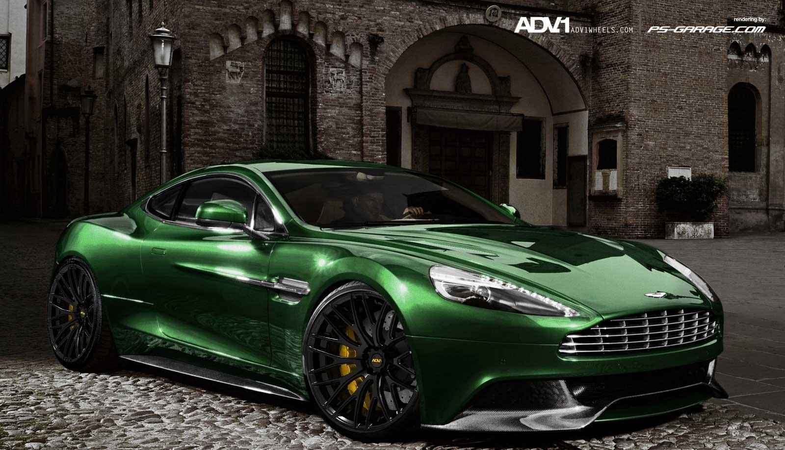Aston Martin Am Vanquish On Adv Wheels