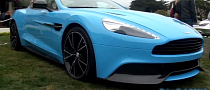 Aston Martin AM310 Vanquish: Awesome V12 Sound [Video]