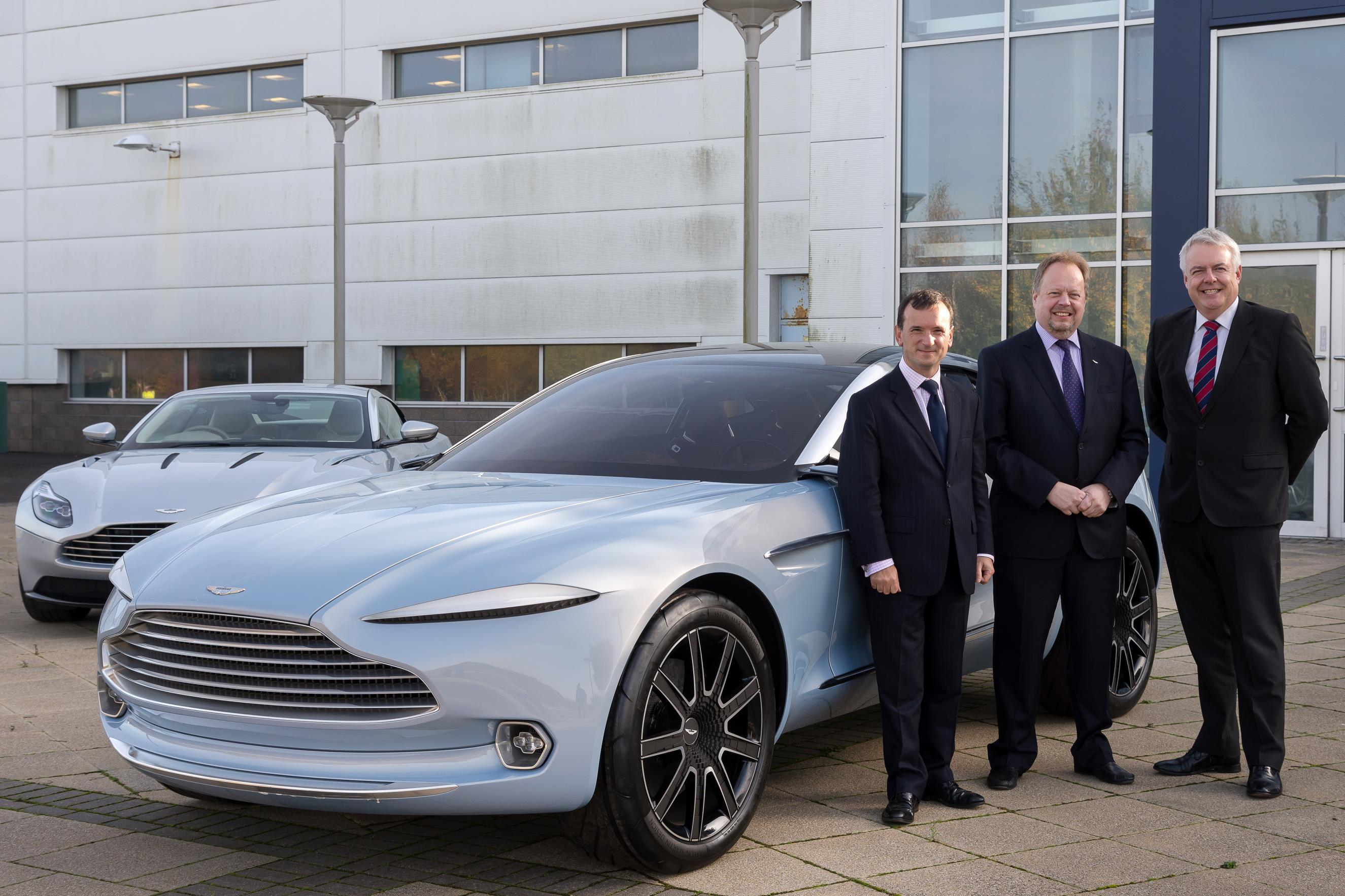 Aston Martin Begins Construction Of St Athan Factory Production