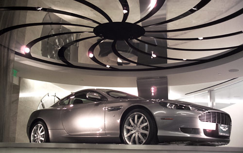 Aston Martin Continues Expansion With Safenwil Switzerland Showroom