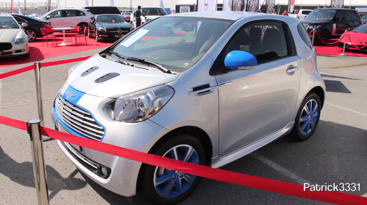 Aston Martin Cygnet Colette Edition in Dubai [Video]