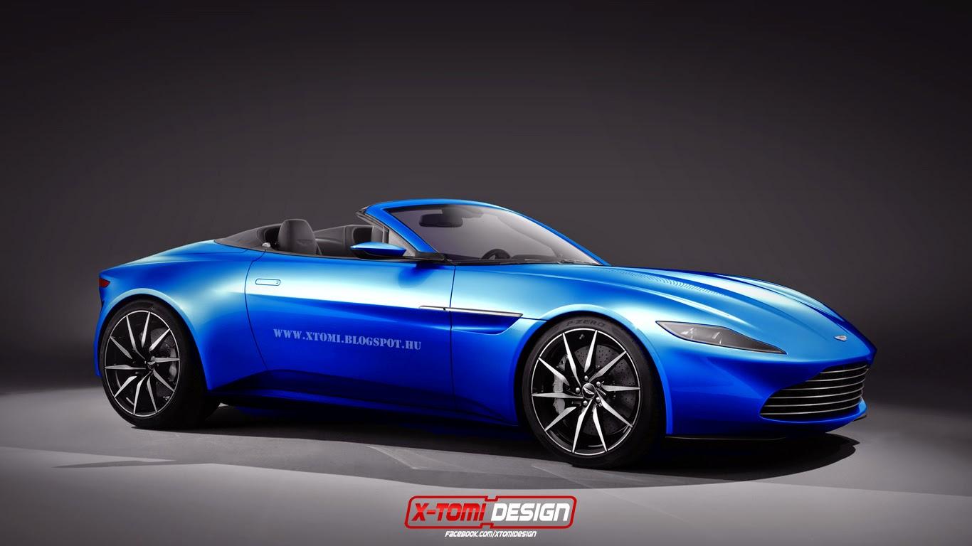 aston martin db10 volante rendering: unimpressive! - autoevolution