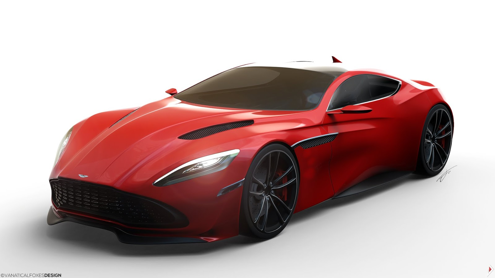 aston martin db11 imagined in jaw dropping renderings autoevolution. Black Bedroom Furniture Sets. Home Design Ideas