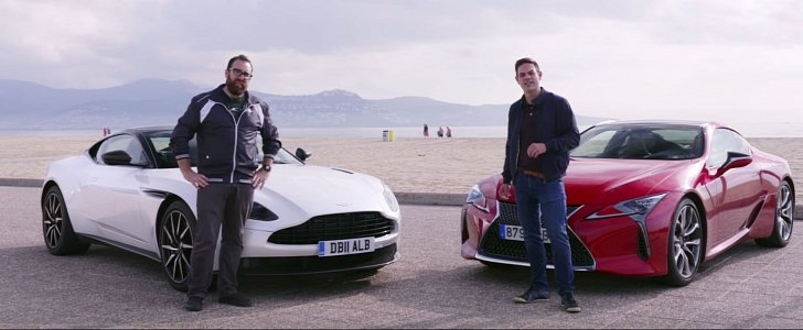 Aston Martin Db V Vs Lexus Lc Is Full Of The Unexpected