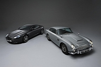 Aston Martin DB5 Bond Car and 2011 DB9