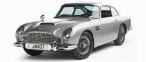 Aston Martin DB5 Voted Most Iconic Bond Car