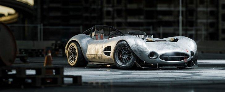 Aston Martin Dbr1 X Rendered With V8 Engine It S Beautifully Sacrilegious Autoevolution