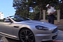 Aston Martin DBS Almost Gets a Ticket, Celebrates Close Call with Revs [Video]