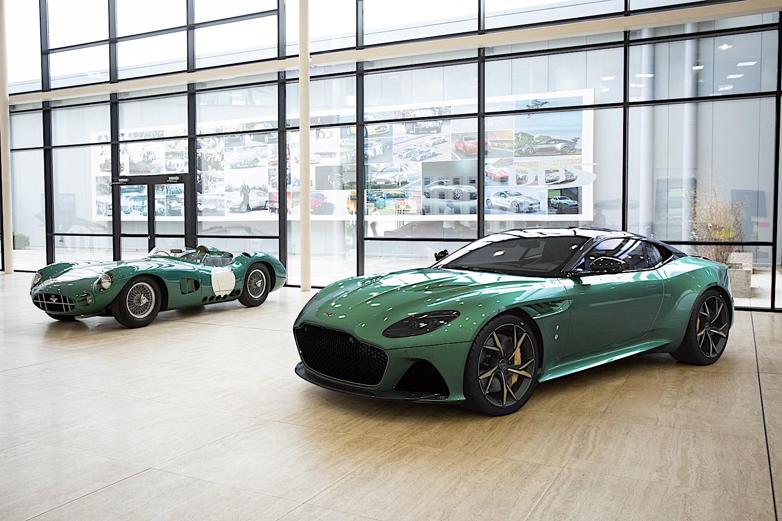 Aston Martin DBS Superleggera Turned into DBR1 Le Mans Win Tribute