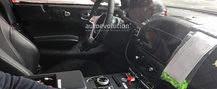 Aston Martin Dbx Spyshots Reveal Interior Mercedes Parts Overload Autoevolution