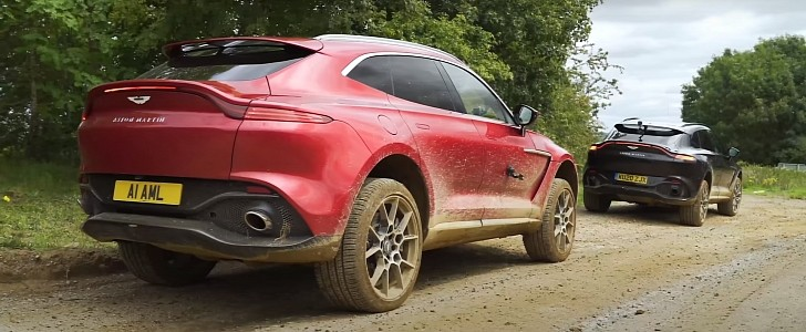 Aston Martin DBX SUV Will Not Embarrass You Off-Road, Stops Better Than It Goes - autoevolution