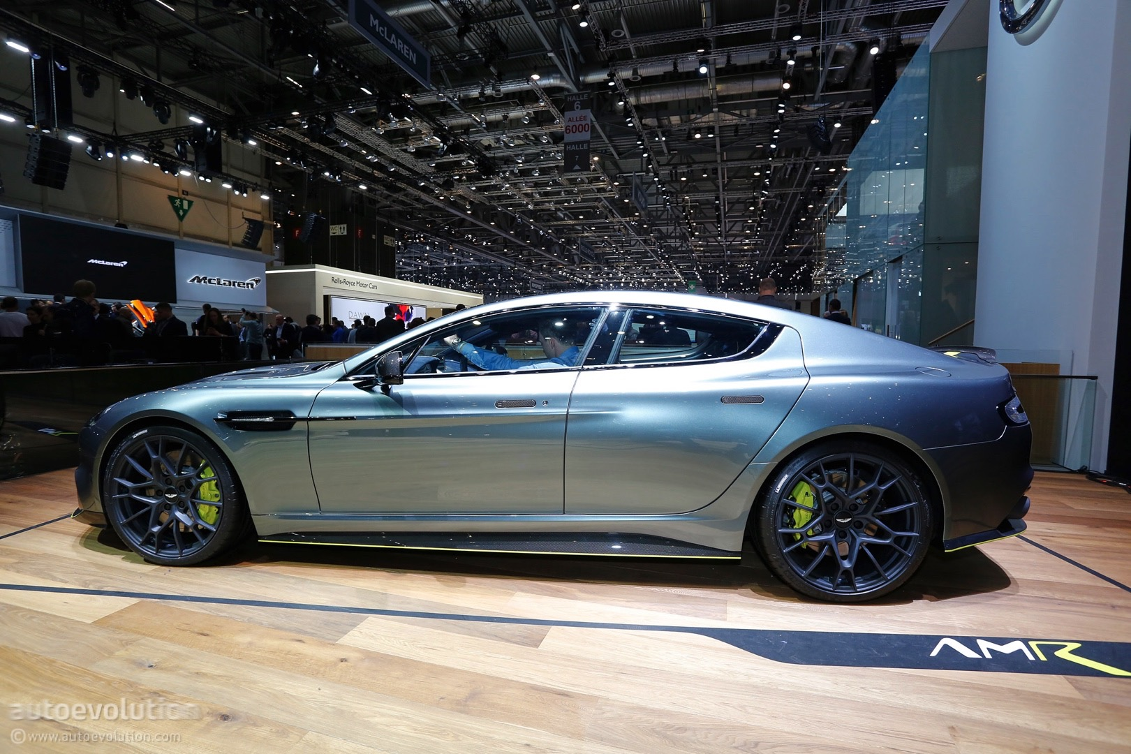 Aston Martin Takes Over Geneva With World S Fastest Sedan The