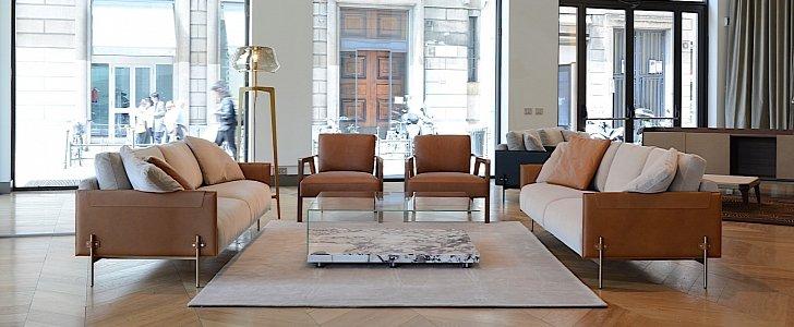Aston Martin Furniture Collection Shown At Salone Del Mobile Autoevolution