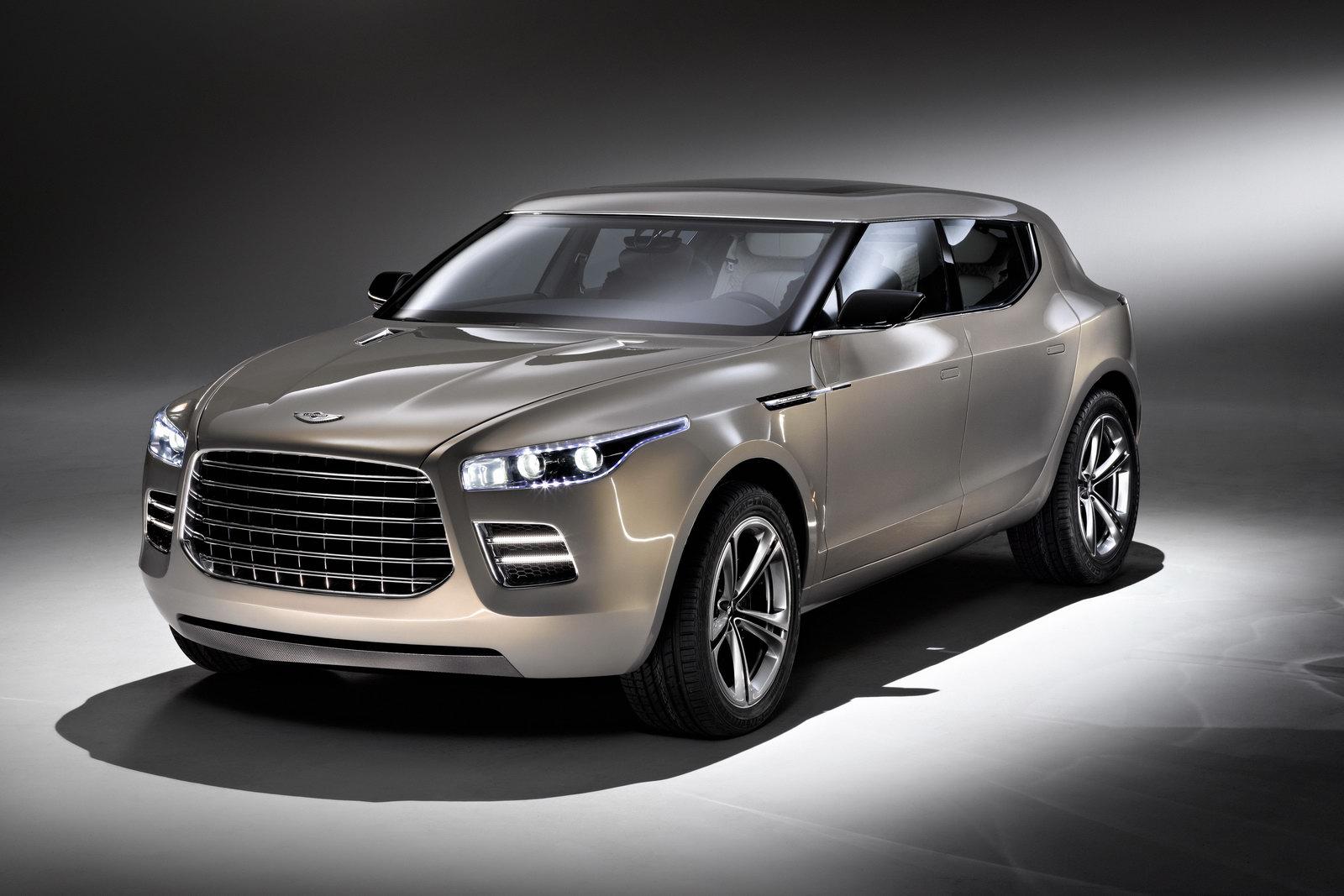 Aston Martin Lagonda Crossover Concept New Official Photos