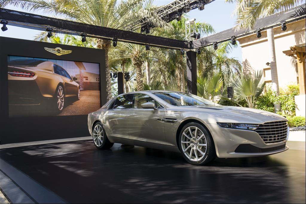 Aston Martin Lagonda Taraf Launched In Dubai Autoevolution