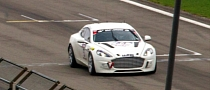 Aston Martin Made the First Hydrogen-Powered Lap of Nurburgring