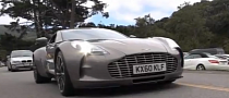 Aston Martin One-77 Makes It to the USA [Video]