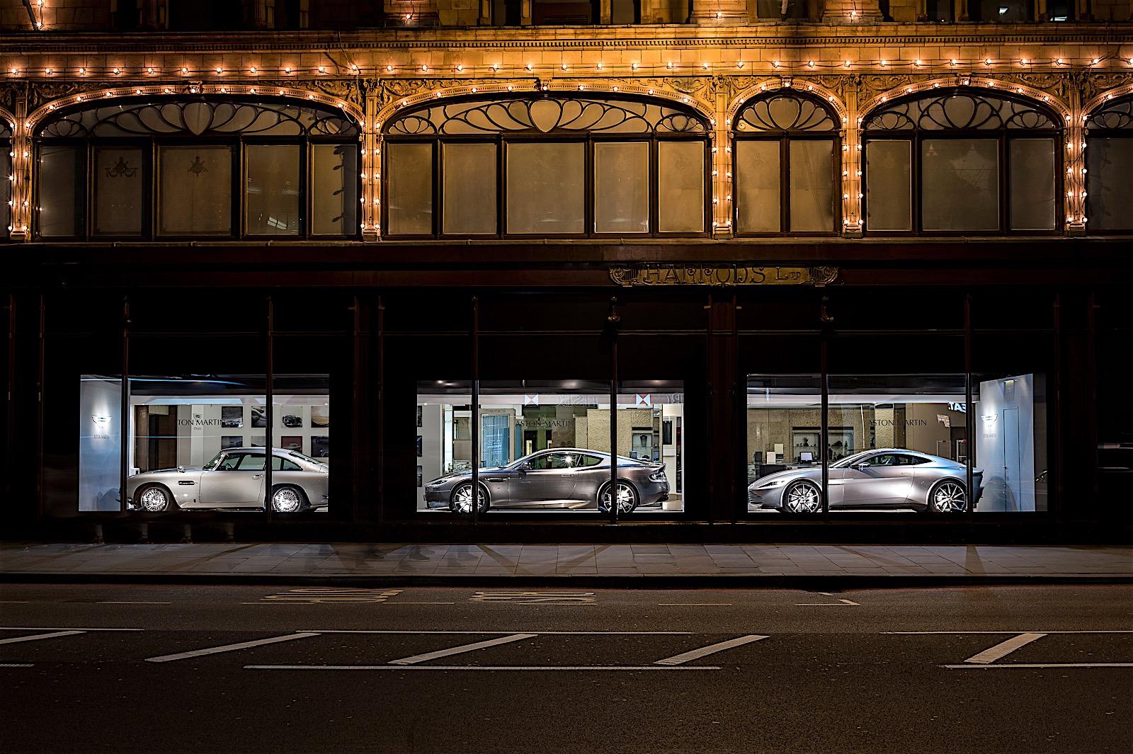 Aston Martin Opens Mini Dealership In Harrods Autoevolution